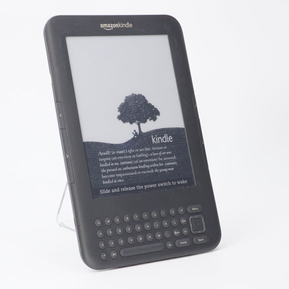 Kindle 3 Keyboard 4GB Gray