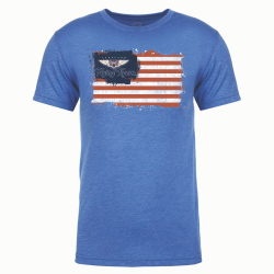 Lakeland Flying Tigers Mens Flag T-Shirt
