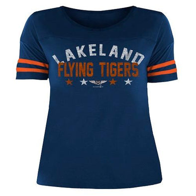 Lakeland Flying Tigers Ladies F/T Scoop Neck