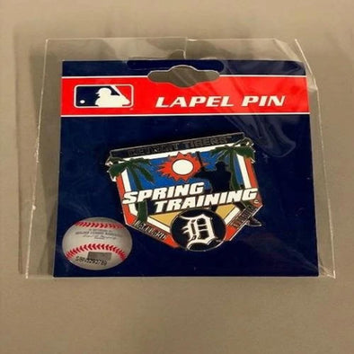 Tigers  Spring Training  HOMEPLATE D PIN