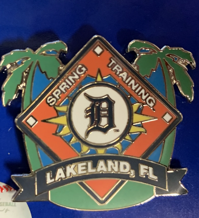 Tigers Spring Training Home Plate Pin