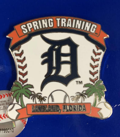 Tigers Spring Training Ball And D Pin