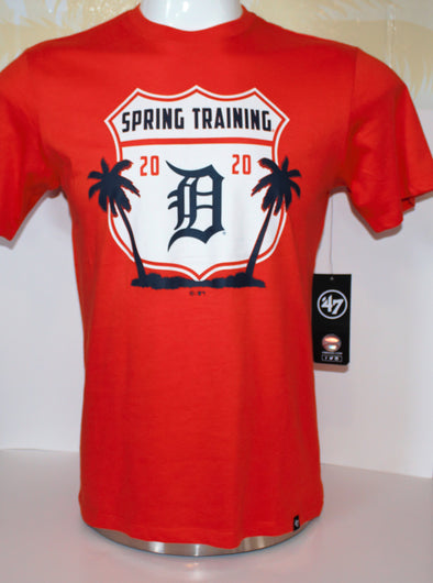 "Tigers 2020 Spring Training Palm ""D"" T-Shirt '47 Brand"