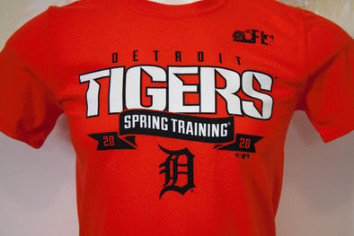 Tigers 2020 Spring Training Men's Line Drive T-Shirt