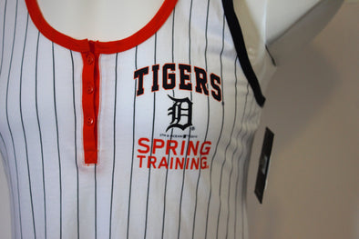 Tigers Spring Training Ladies Pinstripe Tank