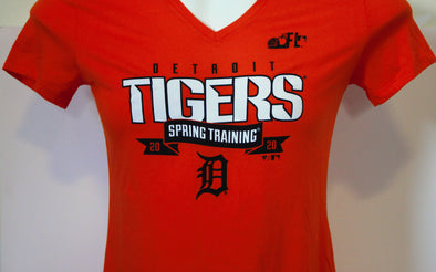 Tigers Spring Training 2020 Women's Line Drive T-Shirt