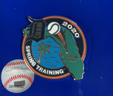 Tigers 2020 Spring Training Florida Pin