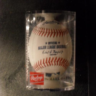 Official Major League Baseball in Case Rawlings