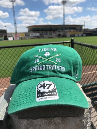 Tigers Spring Training 2020 St. Patrick's Day Adjustable Cap 47 Brand