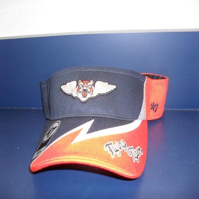 Lakeland Flying Tigers Adj Visor Style Serpentine