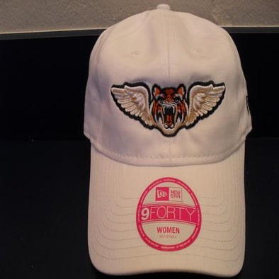 Lakeland Flying Tigers Ladies New Era Adj Hat White