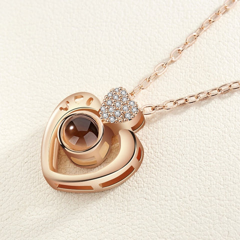 "Perfect Necklace [ 100 Languages ""I LOVE YOU"" ] - The Super Product - Most powerful products ever"