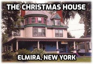 The Christmas House, Elmira, NY