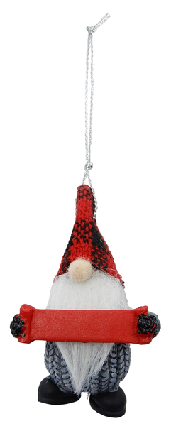Personalized Gnome Ornament