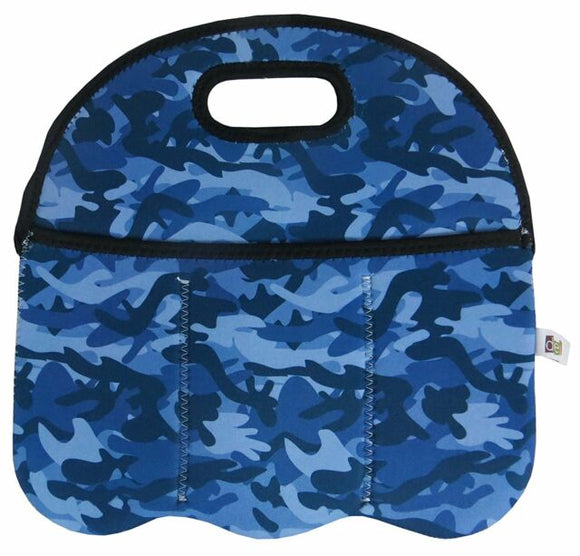 Camo Blue 6 Pack Carrier