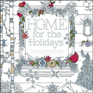 Home for the Holidays Coloring Book