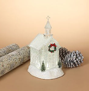 Battery Operated LED Lighted Church / Page 3 - C