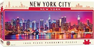 New York City Panoramic 1000 Piece Puzzle