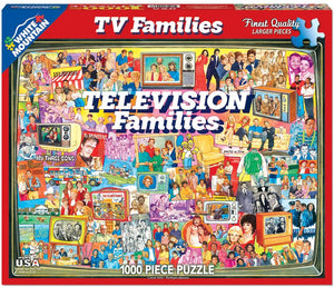 Television Families Puzzle / Page 15 - B