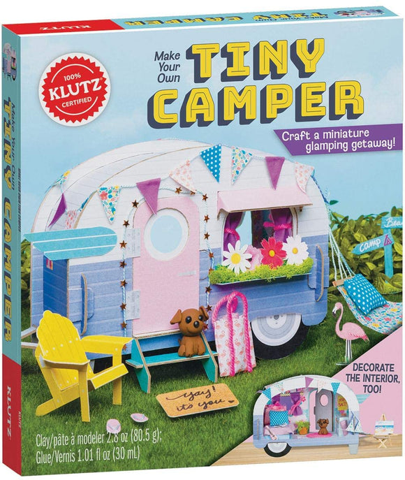Klutz Make Your Own Tiny Camper / Page 5 - B