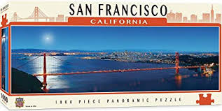 San Francisco Panoramic 1000 Piece Puzzle