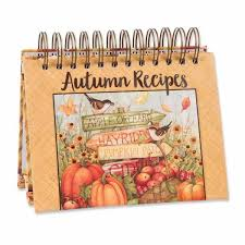 Autumn Recipe Easel Book