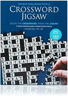 2-in-1 Crossword Jigsaw Puzzle 2nd Edition