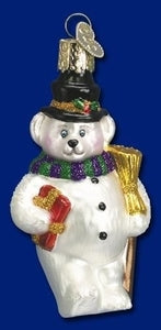 Teddy Bear Snowman