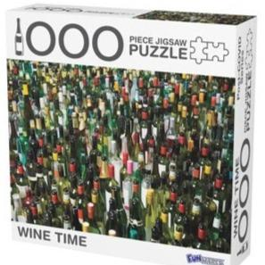 Wine Time 1000 Piece Puzzle