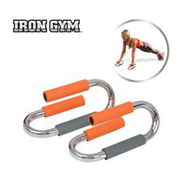 IRON GYM DELUXE PUSH UP BARS - Allsport