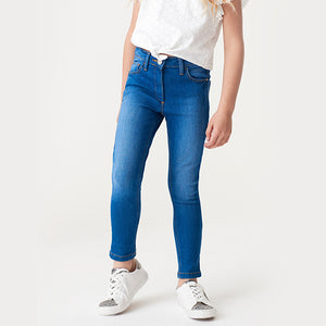 BLUE SKINNY CORE DENIM (3YRS-12YRS) - Allsport