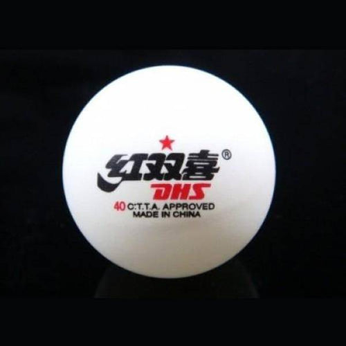 1840C0 PING PONG BALL 1 STAR WHT - Allsport