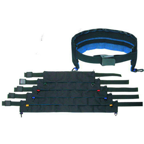 ICWB1101 60 WEIGHT BELT WITH PLASTIC BU