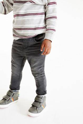 5PKT GREY WASH DENIM (3MTHS-5YRS) - Allsport