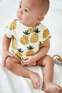 PINEAPPLE ROMPER (0-18MTHS) - Allsport