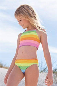 BIKINI RAINBOW SWIMWEAR (3-12 YRS) - Allsport