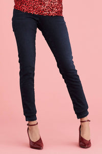 Rich Inky Lift, Slim And Shape Skinny Jeans - Allsport
