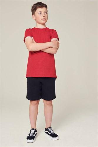 BASIC SHORT BLACK  (3YRS-12YRS) - Allsport
