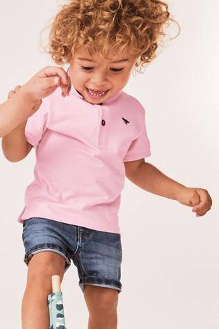 SS POLO PINK PASTEL (6MTHS-5YRS) - Allsport