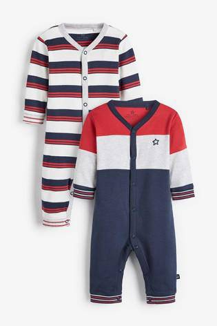 SPORTY STRIPE 2PKSL (0MTH-18MTHS) - Allsport