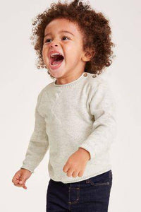 ECRU STAR BASIC SWEATER (3MTHS-5YRS) - Allsport