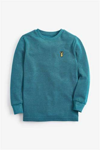 PIQUE TEAL STAG TOPS (3-12YRS) - Allsport