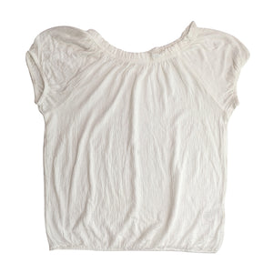 C CRINKLE TOP  SHORT SLEEVE TO - Allsport