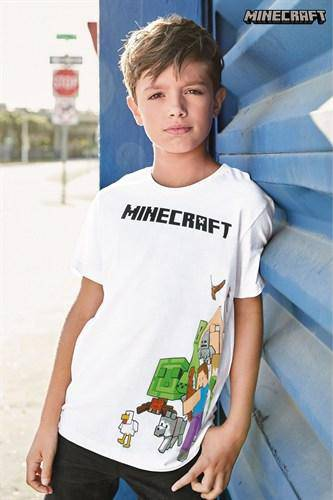 MINECRAFT WHITE CHA LICENSE (4-12YRS) - Allsport