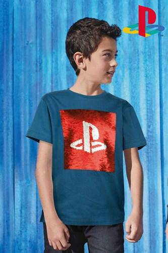 PLAYSTATION SEQUIN LICENSE (6-12YRS) - Allsport