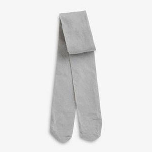 1PK SILVER LUREX TIGHTS (3-8YRS) - Allsport