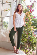 Load image into Gallery viewer, UTILITY SKINNY TROUSERS GREEN - Allsport