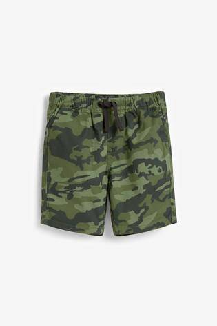 Pull-On Camouflage Shorts - Allsport