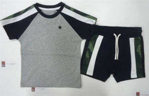 SET CAMO RAGLAN (3MTHS-5YRS) - Allsport