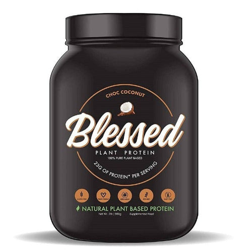 EHP BLESSED Plant Based Protein Chocolate Coconut  30 Servings - Allsport